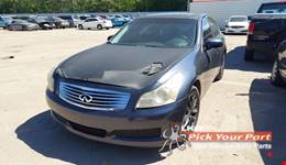 2007 INFINITI G35 partes disponibles