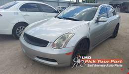 2003 INFINITI G35 available for parts