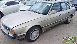 1990 BMW 525I partes disponibles