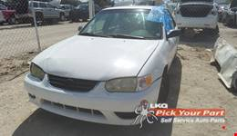 2002 TOYOTA COROLLA available for parts