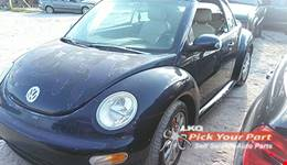 2005 VOLKSWAGEN BEETLE available for parts