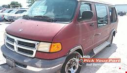 2000 DODGE RAM 1500 VAN available for parts