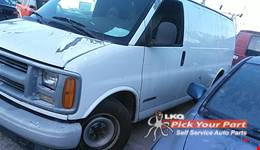 2000 CHEVROLET EXPRESS 2500 available for parts