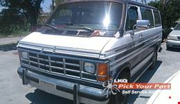 1990 DODGE B150 available for parts