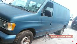 2001 FORD E-150 ECONOLINE available for parts