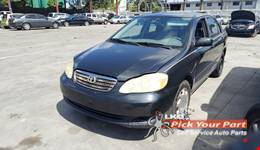 2005 TOYOTA COROLLA available for parts