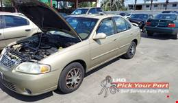 2001 NISSAN SENTRA available for parts