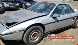 1986 PONTIAC FIERO available for parts