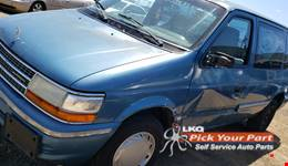 1993 PLYMOUTH VOYAGER available for parts