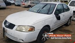 2004 NISSAN SENTRA available for parts