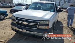 2006 CHEVROLET SILVERADO 1500 available for parts