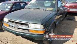 2003 CHEVROLET S10 available for parts