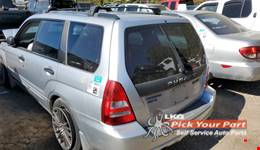 2005 SUBARU FORESTER available for parts