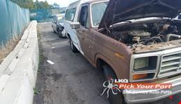 1984 FORD F-150 available for parts