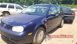 2002 VOLKSWAGEN GOLF available for parts