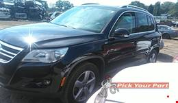 2010 VOLKSWAGEN TIGUAN available for parts