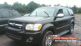 2007 TOYOTA SEQUOIA available for parts