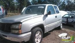 2006 CHEVROLET SILVERADO 1500 available for parts