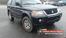 2002 MITSUBISHI MONTERO SPORT available for parts