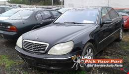 2001 MERCEDES-BENZ S430 available for parts