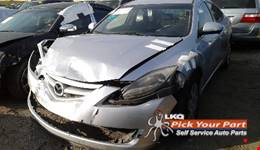 2012 MAZDA 6 available for parts