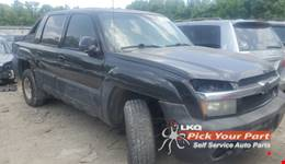 2002 CHEVROLET AVALANCHE 1500 available for parts
