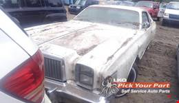 1979 CHRYSLER CORDOBA available for parts