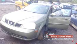 2005 SUZUKI FORENZA available for parts