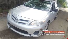 2013 TOYOTA COROLLA available for parts