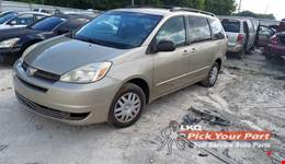 2005 TOYOTA SIENNA available for parts