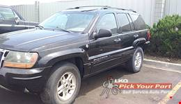 2004 JEEP GRAND CHEROKEE available for parts