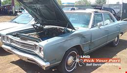 1969 PLYMOUTH SATELLITE available for parts
