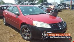 2006 PONTIAC G6 available for parts