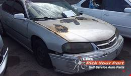 2002 CHEVROLET IMPALA available for parts