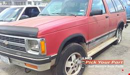 1991 CHEVROLET S10 BLAZER available for parts