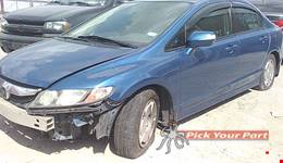 2010 HONDA CIVIC available for parts