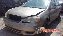 2004 TOYOTA COROLLA available for parts