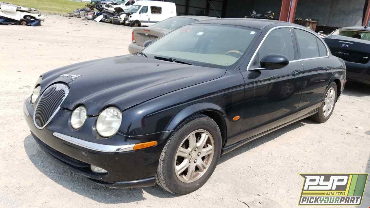 2004 Jaguar S Type Used Auto Parts Oklahoma City