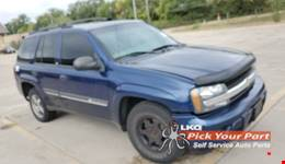 2002 CHEVROLET TRAILBLAZER available for parts