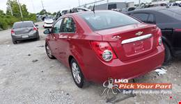 2012 CHEVROLET SONIC available for parts