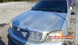 2002 CADILLAC DEVILLE available for parts