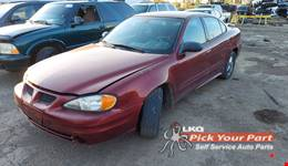 2003 PONTIAC GRAND AM available for parts