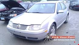 2003 VOLKSWAGEN JETTA available for parts