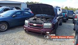 2006 CHEVROLET TRAILBLAZER EXT available for parts