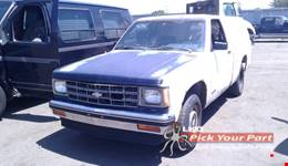 1992 CHEVROLET S10 available for parts