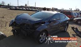2011 HYUNDAI ELANTRA available for parts