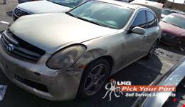 2005 INFINITI G35 available for parts