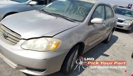 2003 TOYOTA COROLLA available for parts