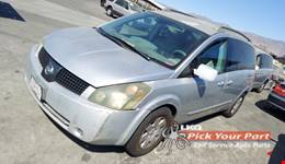 2006 NISSAN QUEST available for parts