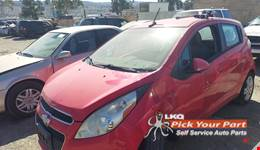 2013 CHEVROLET SPARK available for parts